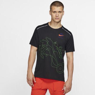 Haut de running à manches courtes Nike Rise 365 Berlin pour Homme
