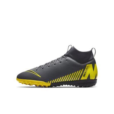 Nike Jr. SuperflyX 6 Academy TF Voetbalschoen voor kleuters/kids (turf)