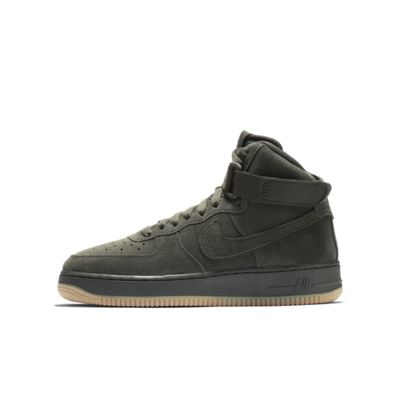 Calzado para niños talla grande Nike Air Force 1 High LV8