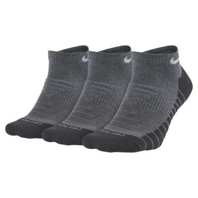 Calcetines invisibles de entrenamiento Nike Everyday Max Cushioned (3 pares)