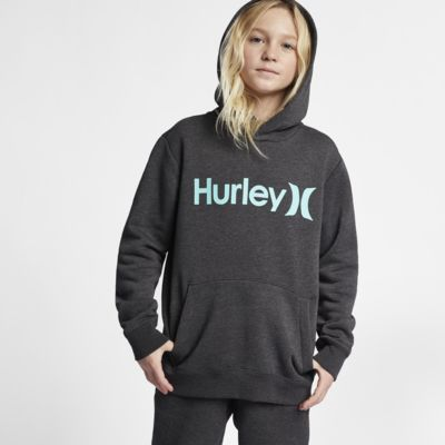 Hurley Surf Check Pullover Big Kids' Hoodie