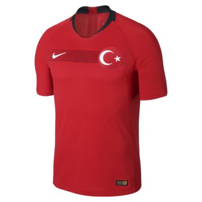 Camiseta de fútbol para hombre 2018 Turkey Vapor Match Home/Away
