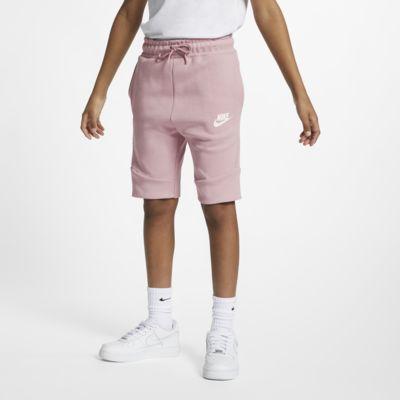Shorts para niños talla grande Nike Sportswear Tech Fleece