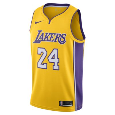 เสื้อแข่ง Nike NBA ผู้ชาย Kobe Bryant Icon Edition Swingman (Los Angeles Lakers)