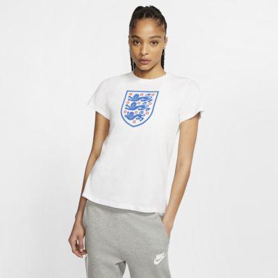 Fotbolls-t-shirt England för kvinnor