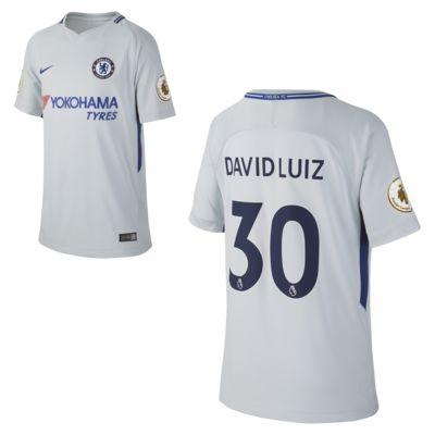 Купить Футбольное джерси для школьников 2017/18 Chelsea FC Stadium Away (David Luiz)