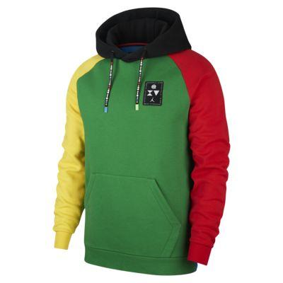Fleecetröja i pullover-modell Jordan Quai 54 för män