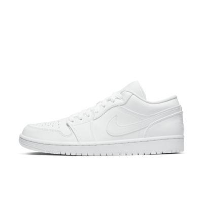 Купить Кроссовки Air Jordan 1 Low, Белый/Белый/Grey Fog/Белый, 23794218, 12722209