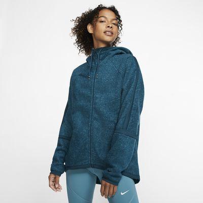 Nike Therma Women's Fleece Full-Zip Training Top