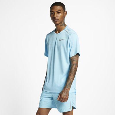 Nike Dri-FIT Miler Kurzarm-Laufoberteil für Herren