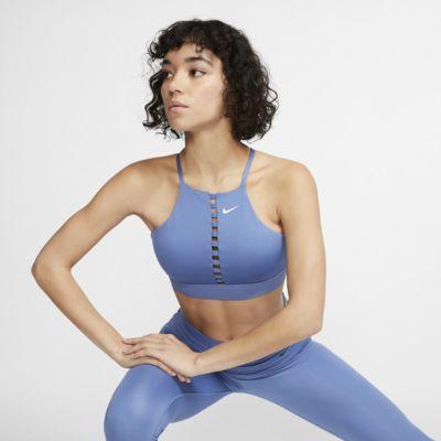 Brassière de yoga à maintien léger Nike Indy pour Femme
