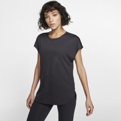 Nike Dri-FIT Women's Short-Sleeve Yoga Training Top