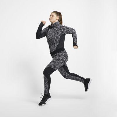Damskie legginsy Nike Pro HyperWarm (duże rozmiary)