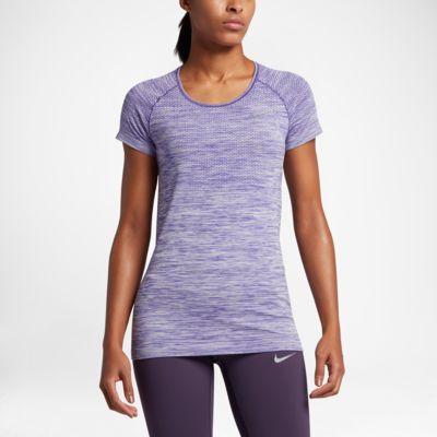 Nike Dri-FIT Knit 女子短袖跑步上衣