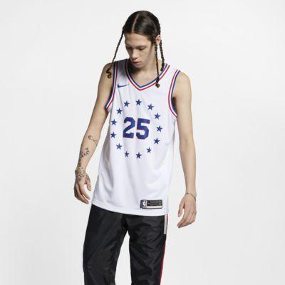 Ben Simmons Earned City Edition Swingman (Philadelphia 76ers) Nike NBA Connected Trikot für Herren