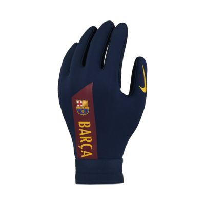 Nike HyperWarm FC Barcelona Academy Kids' Football Gloves