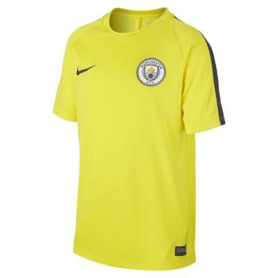 Manchester City FC Dry Genç Çocuk Futbol Üstü