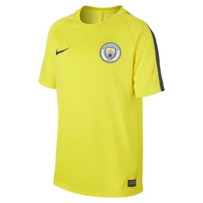 Top de fútbol para niños talla grande Manchester City FC Dry