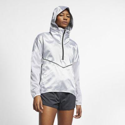 Nike-løbejakke med hætte til kvinder