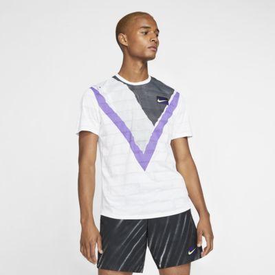 NikeCourt Challenger kortermet tennisoverdel til herre