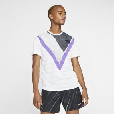 NikeCourt Challenger Kurzarm-Tennisoberteil für Herren