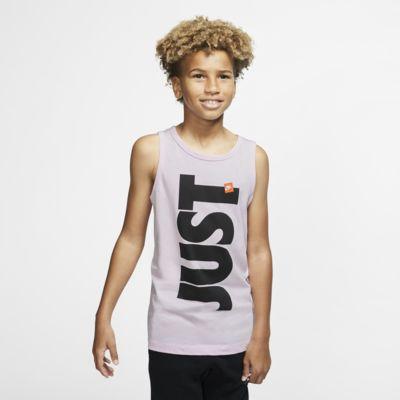 Nike Sportswear Just Do It Older Kids' (Boys') Tank