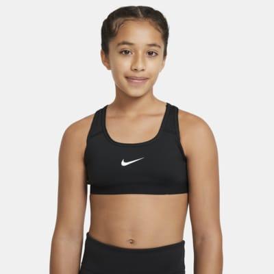 Dziewczęcy stanik sportowy Nike