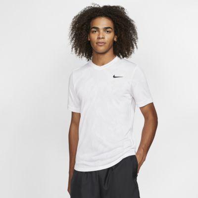 NikeCourt Dri-FIT Challenger kortermet tennisoverdel til herre