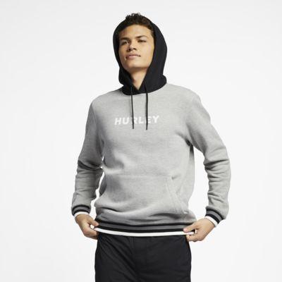 Hurley East Coast-pulover-hættetrøje i fleece til mænd
