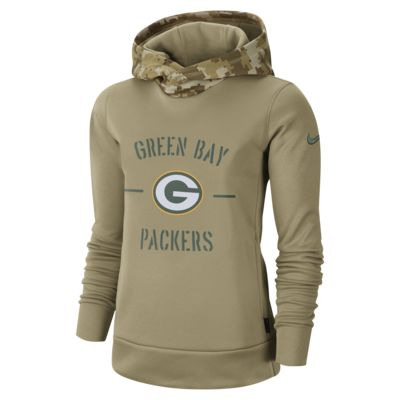 Nike Therma Salute to Service (NFL Packers) Women's Hoodie