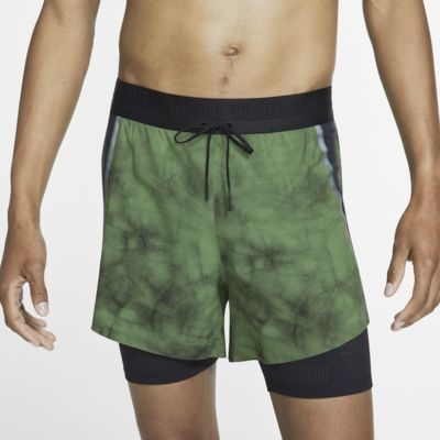 Nike Tech Pack 2 az 1-ben férfi futórövidnadrág