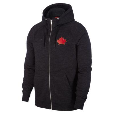 Sweat à capuche entièrement zippé Nike Hockey Canada Legacy pour Homme