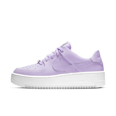 nike air force 1 grijs