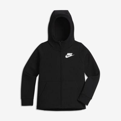 Sudadera con capucha de cierre completo para niña talla grande Nike Sportswear