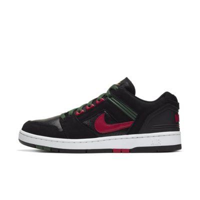 Nike SB Air Force 2 Low Sport Style Schuhe Herren weißtürkise