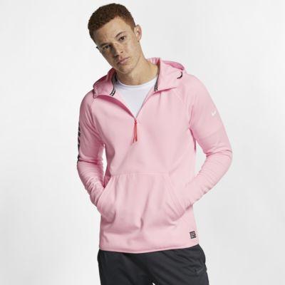 Pánská fotbalová mikina s kapucí Nike F.C.