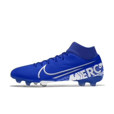 Chaussure de football à crampons pour terrain sec personnalisable Nike Mercurial Superfly 7 Academy FG By You