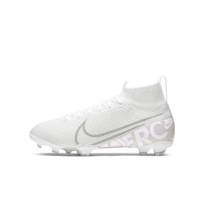 Nike Jr. Mercurial Superfly 7 Elite FG-fodboldstøvler til store børn (græs)