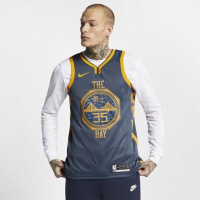 Męska koszulka Nike NBA Connected Jersey Kevin Durant City Edition Swingman (Golden State Warriors)