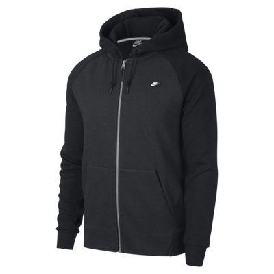 Felpa con cappuccio e zip a tutta lunghezza Nike Sportswear Optic - Uomo