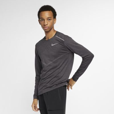 Haut de running à manches longues Nike Techknit Ultra pour Homme