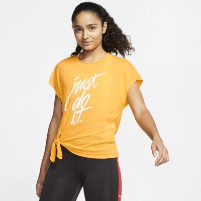 Damska koszulka treningowa z krótkim rękawem Nike Dri-FIT