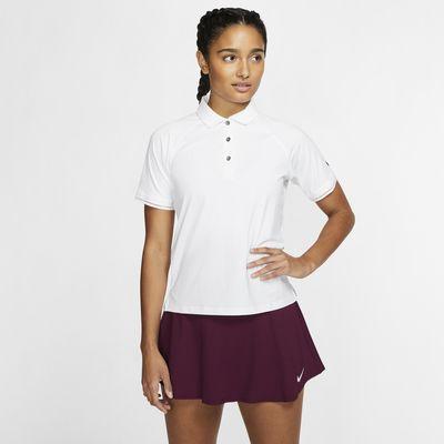 Polo de tennis NikeCourt pour Femme