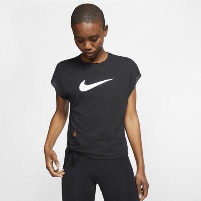Nike Dri-FIT kortermet treningsoverdel til dame