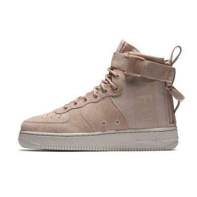Nike SF Air Force 1 Hi Men's Lifestyle Boots Rattan/Rattan/Rattan zH1314L