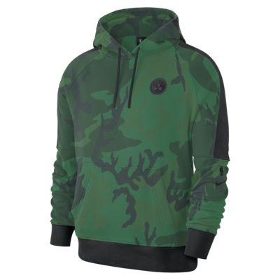 Pánská mikina NBA Boston Celtics Nike s kapucí