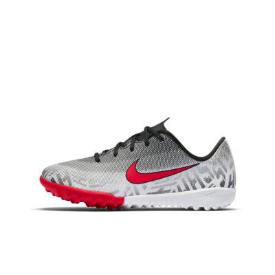 Ποδοσφαιρικό παπούτσι για τεχνητό χλοοτάπητα Nike Jr. Mercurial Vapor XII Academy Neymar Jr για μικρά παιδιά