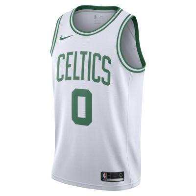 波士顿凯尔特人队 (Jayson Tatum) Association Edition Swingman Jersey 男子 Nike NBA Connected 球衣