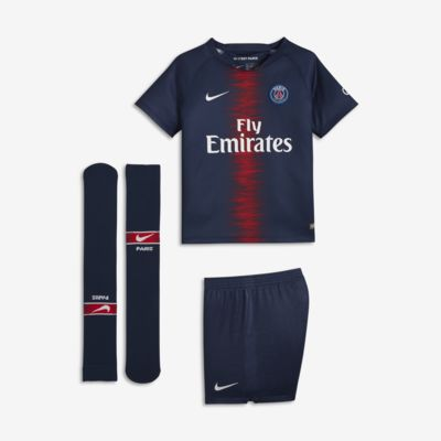 2018/19 Paris Saint-Germain Stadium Home fotballdraktsett for små barn