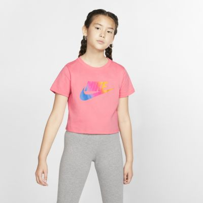 T-Shirt σε πιο κοντό μήκος Nike Sportswear για μεγάλα κορίτσια